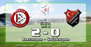 Bartınspor'un Bileği Bükülmüyor: 2-0