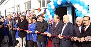 Hasankadı'da Ayakkabı Fabrikası Açıldı