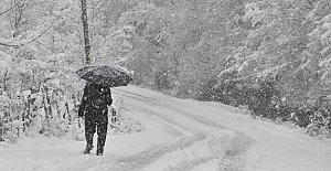 İlk Kar Yağdı, Meteorolojiden Yeni...