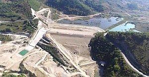 Kışla Barajı Su Tutmaya Başladı