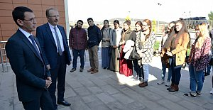 Türkmenistan Büyükelçisi Amanlıyev Bartın'da