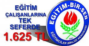 Eğitim Çalışanlarına 1.625 TL Promosyon