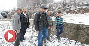 Yangın sonrası 5 kişilik kayıp ailenin köylüleri tedirgin