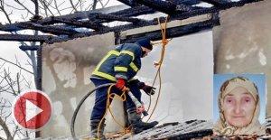 Yaşlı kadın yangında, hayatını kaybetti