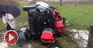 Zonguldak yolunda feci kaza: 1 Yaralı
