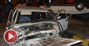 Alkollü sürücünün neden olduğu kazada 8 kişi yaralandı