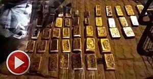 Otobüsün buzdolabından 64 kilo 540 gram altın çıktı