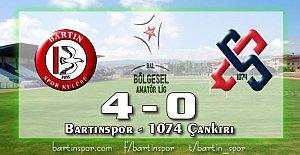 Bartınspor'dan Gol Şov: 4-0