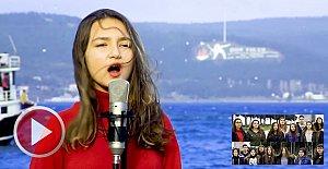 Amasralı Öğrencilerden Çanakkale Türküsü
