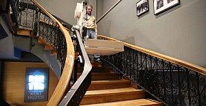 Bartın Kent Müzesine Engelli Asansörü