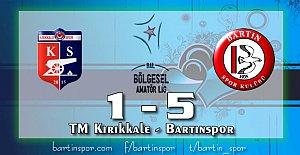 Bartınspor Kale#039;yi Gole Boğdu:...