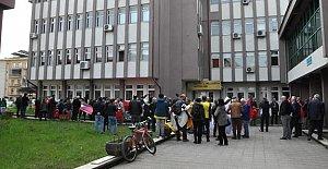Milli Eğitim Müdürü protesto edildi