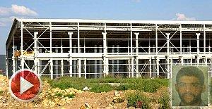 Fabrika inşaatında facia: 1 Ölü, 2 Yaralı