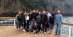 Güzelcehisar İlk Yabancı Turistlerini ağırladı