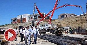 1000 kişilik öğrenci yurdu inşaatı başladı