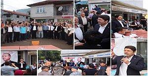 Ak Parti Adaylarına Amasra'dan Tam Destek