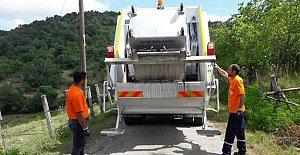 Köylere Yeni Çöp Toplama Aracı