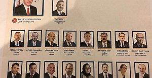 İşte Cumhurbaşkanlığı Kabinesi