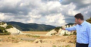 Kozcağız Barajı'nın Gövde İnşaatı Başladı