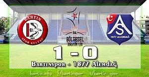 Bartınspor Sezona 3 Puanla Başladı: 1-0