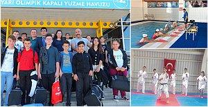 Bartın Polisinden 40 Gence Karete ve Yüzme Kursu