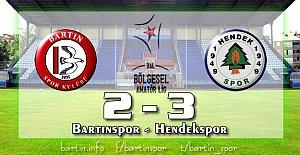 Bartınspor'a Son Dakika Şoku: 2-3