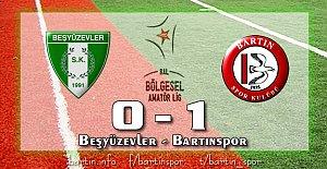 Bartınspor İstanbul#039;dan Lider...