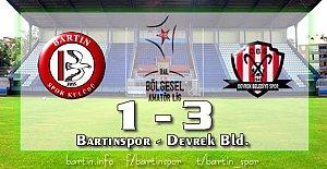 Bartınspor'dan Şok Mağlubiyet: 1-3