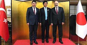 Tunç, Japonya İmparatorunun doğum gününü kutladı