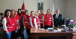 Türk Kızılayı'na Anlamlı Ziyaret