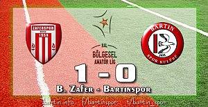 Bartınspor Bursa#039;dan Puansız...