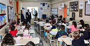 Başkan Okul Ziyaretlerinde