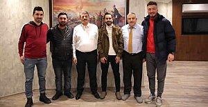 Genç Martılar'dan Başkan'a Ziyaret