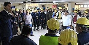 Tunç'tan Dünya Madenciler Günü Mesajı