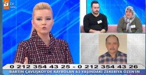 Müge Anlı Bartınlı Zekeriya Özen#039;i...