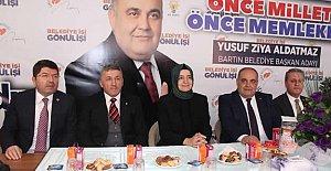 Aldatmaz'a Ankara'dan Güçlü Destek