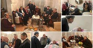 Başkandan Yaşlılara Ziyaret