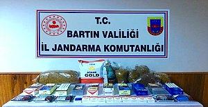Kumluca'da 12.5 Kilo Kaçak Tütün Yakalandı