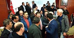 Tunç, Ankara'daki hemşehrileriyle bir araya geldi