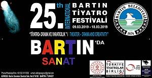 25. Bartın Tiyatro Festivali Başlıyor