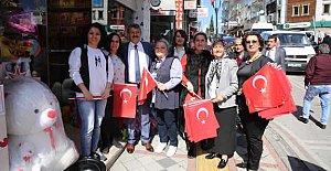 Esnaflara Türk Bayrağı