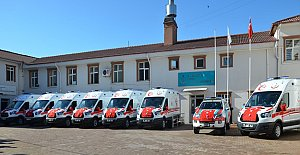 Sağlık Ordusuna 7 Yeni Ambulans