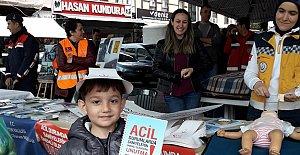Trafik ve İlkyardım Haftası Kutlanıyor