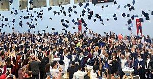 2 bin 830 Öğrencinin Mezuniyet Sevinci