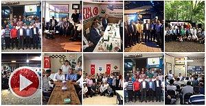 Ak Parti ve MHP'den Tam Saha Pres