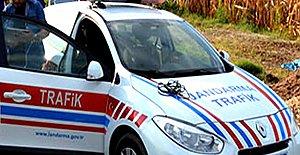 Alkollü Sürücü Polise Çapıp Kaçtı