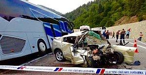 Tünel Çıkışında Feci Kaza: 1 Ölü, 8 Yaralı