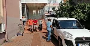 Bartın'da Aranan 3 Şüpheli Yakalandı