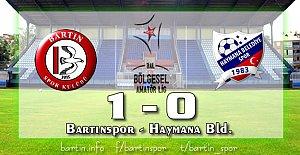 Bartınspor'da Kaptan Gemisini Kurtardı: 1-0
