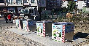 Çöp Konteynerleri Yeraltına İniyor